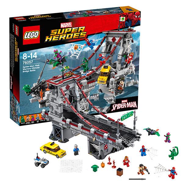 Игрушка Лего Супер Герои (Lego Super Heroes) Человек-паук™: Последний бой воинов паутины™