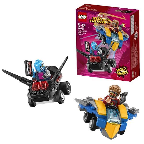 Игрушка Лего Супер Герои (Lego Super Heroes) Mighty Micros: Звёздный Лорд против Небулы™