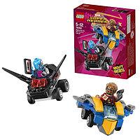 Игрушка Лего Супер Герои (Lego Super Heroes) Mighty Micros: Звёздный Лорд против Небулы™, фото 1