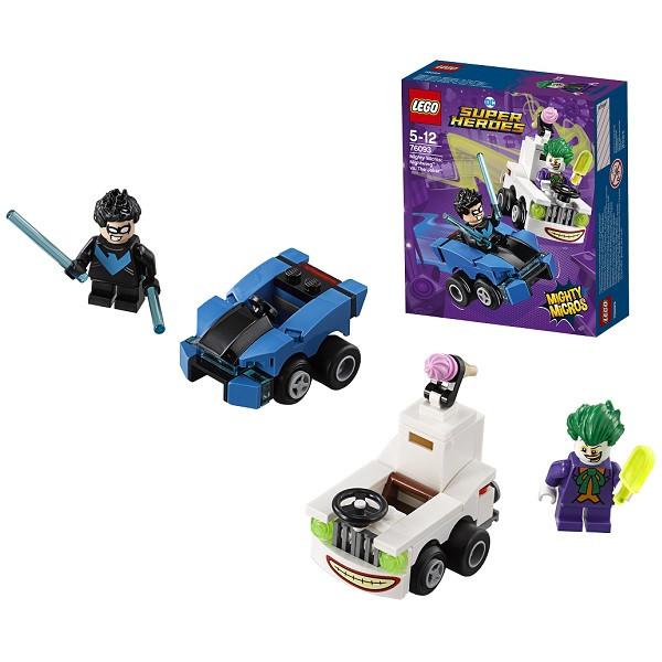 Игрушка Лего Супер Герои (Lego Super Heroes) Mighty Micros: Найтвинг против Джокера™
