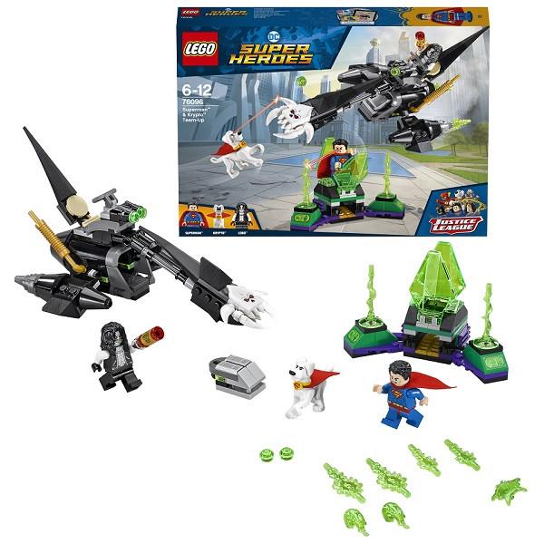 Игрушка Лего Супер Герои (Lego Super Heroes) Супермен и Крипто объединяют усилия™