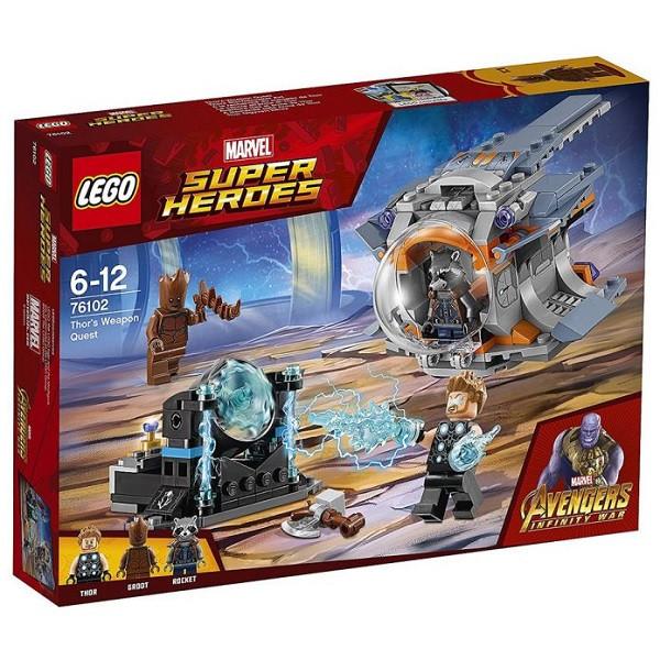 Игрушка Лего Супер Герои (Lego Super Heroes) В поисках оружия Тора™
