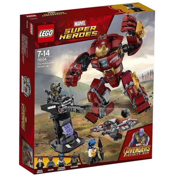 Игрушка Лего Супер Герои (Lego Super Heroes) Бой Халкбастера™