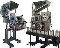 Высокопроизводительное универсальное автоматическое укупорочное оборудование для закручивания крышек