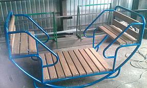 Мебель из металла 7