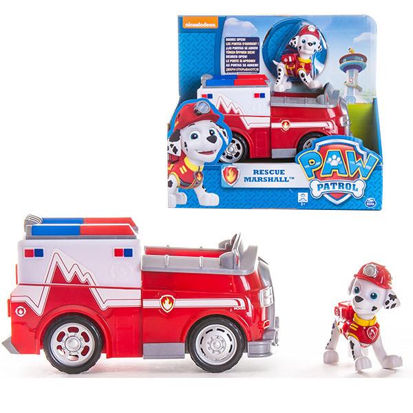 Игрушка Щенячий Патруль (Paw Patrol) Машинка спасателя и щенок