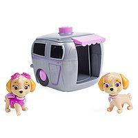 Игрушка Щенячий Патруль (Paw Patrol) игровой набор два щенка в домике, фото 1