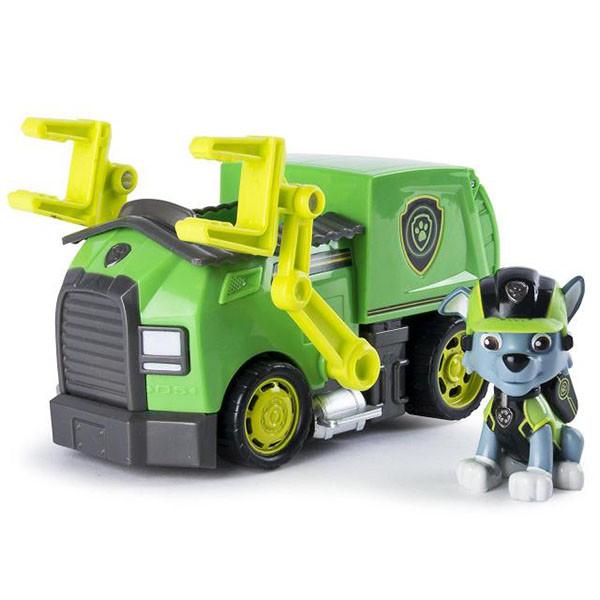 Игрушка Щенячий Патруль (Paw Patrol)  Машина спасателя со щенком
