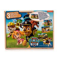 Игра Spin Master Щенячий Патруль (Paw Patrol) набор деревянных пазлов
