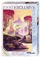 """Мозаика """"puzzle"""" 1000 """"Стив Рид. Волшебная долина"""" (Глиттер-коллекция)"""