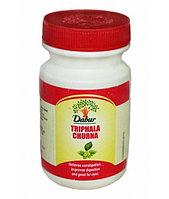 Triphala Сhurna Dabur, Натуральный препарат для очисти организма от шлаков и токсинов, 120 гр, фото 1