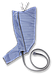 Аппарат для прессотерапии (лимфодренажа) Phlebo Press New с 8 камерным комбинезоном, фото 6