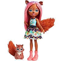 Игрушка Enchantimals Кукла с питомцем - Санча Белка (FNH22), фото 1