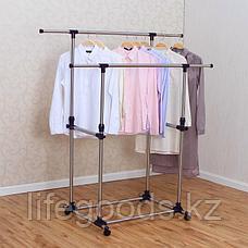 Вешалка напольная для одежды гардеробная, YOULITE YLT-0302D, фото 2