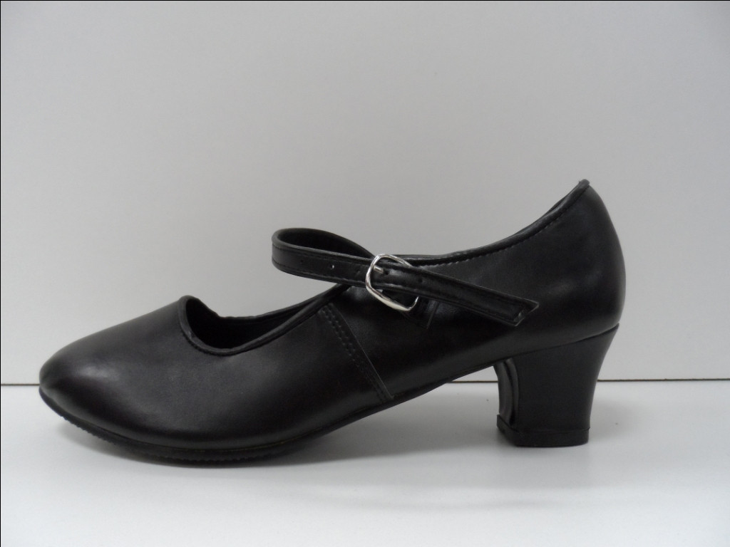 Туфли для народных танцев - Фламенко (черный) - фото 3