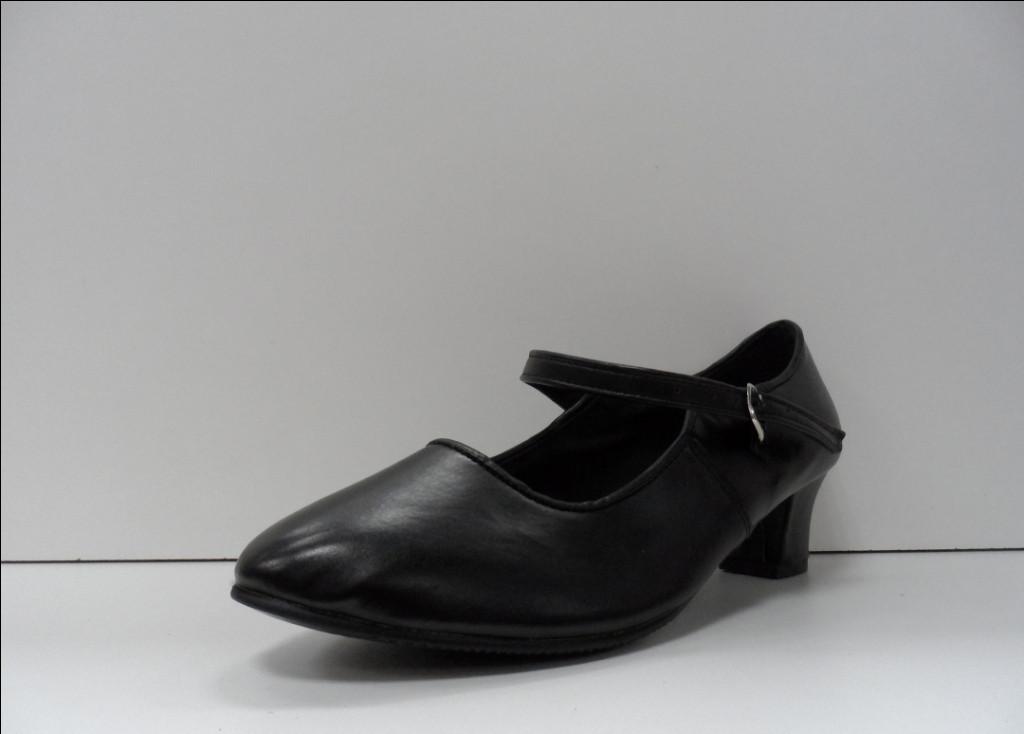 Туфли для народных танцев - Фламенко (черный) - фото 1