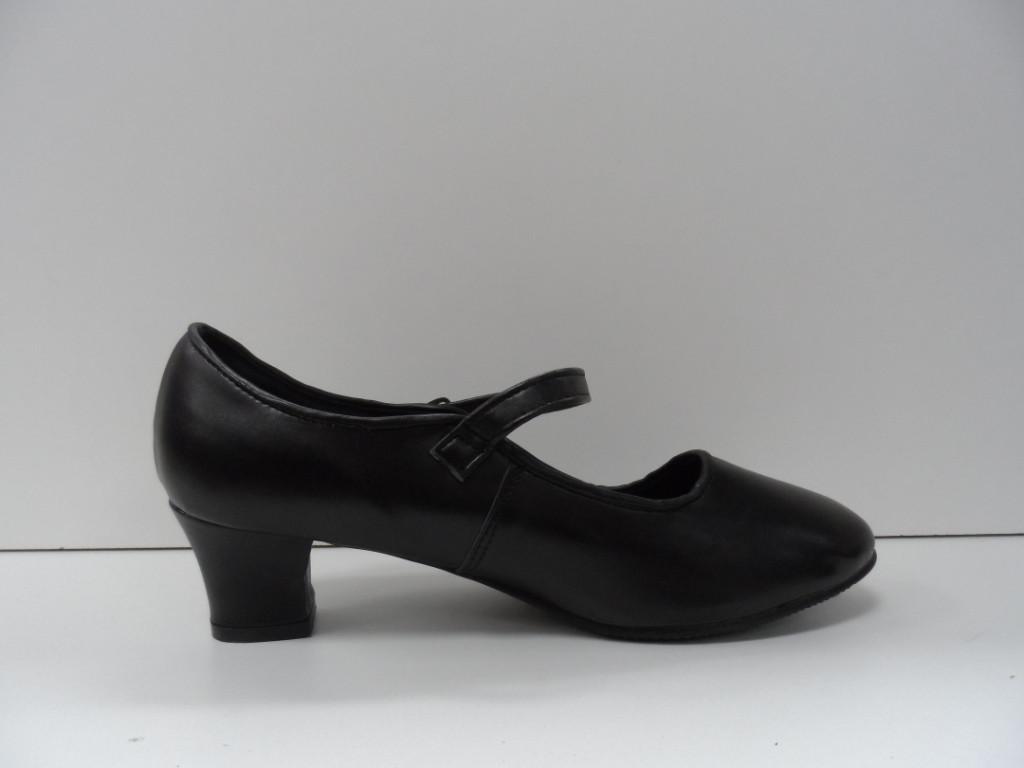 Туфли для народных танцев - Фламенко (черный) - фото 4