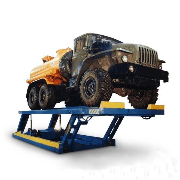 Подъемник 12Г272М для подъема легковых, грузовых автомобилей и автобусов
