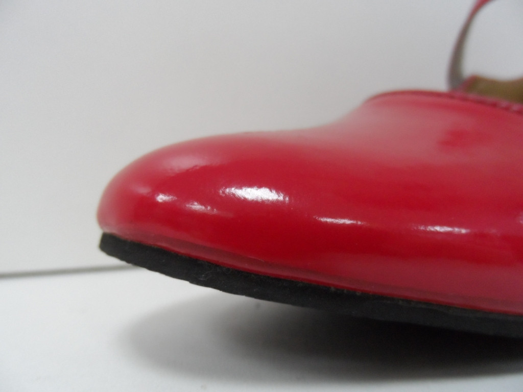 Туфли для народных танцев - Фламенко (красный) - фото 6