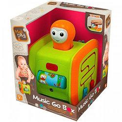MeliDadi Music Go Box - Интерактивный игровой центр с моторчиком