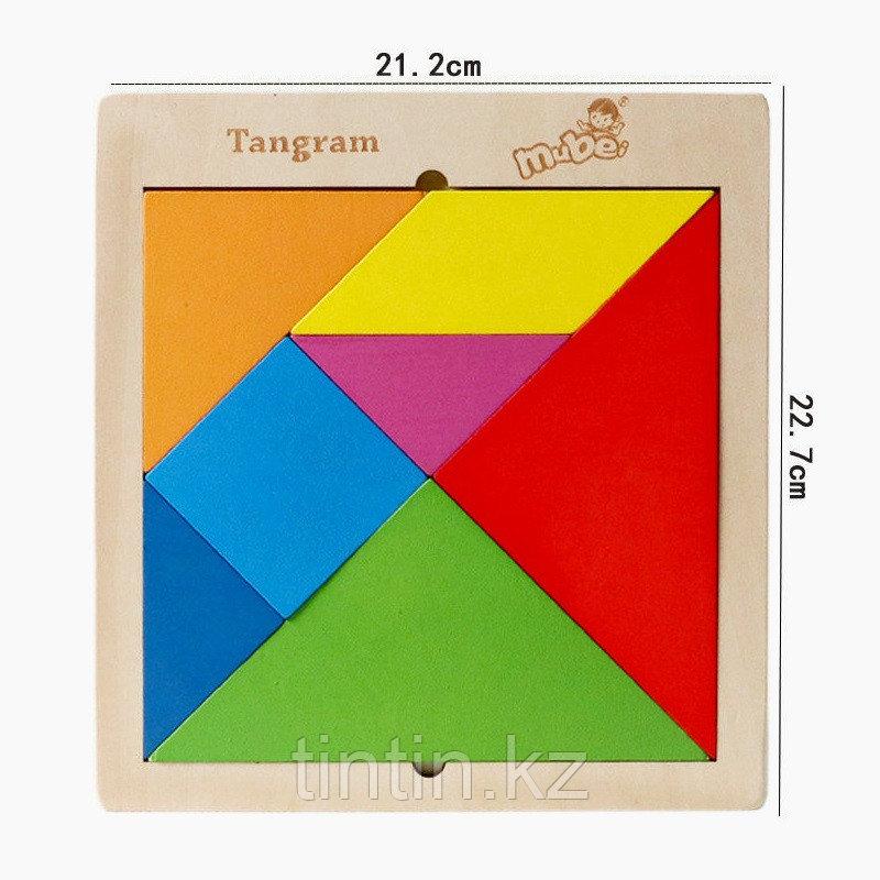 Головоломка - Танграм (21х22 см)