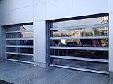 Ворота секционные панорамные, фото 2