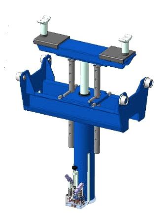 Канавный подъемник П114Е-10-1 с интегрированной системой поддержки
