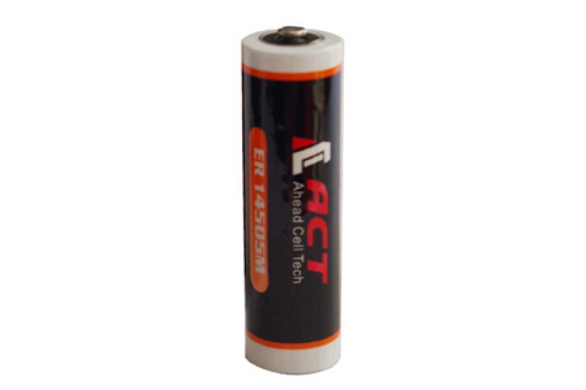 Литиевая батарея ACT ER14505M, AA Size 3,6В; 2000 мАч, Li-SOCl2