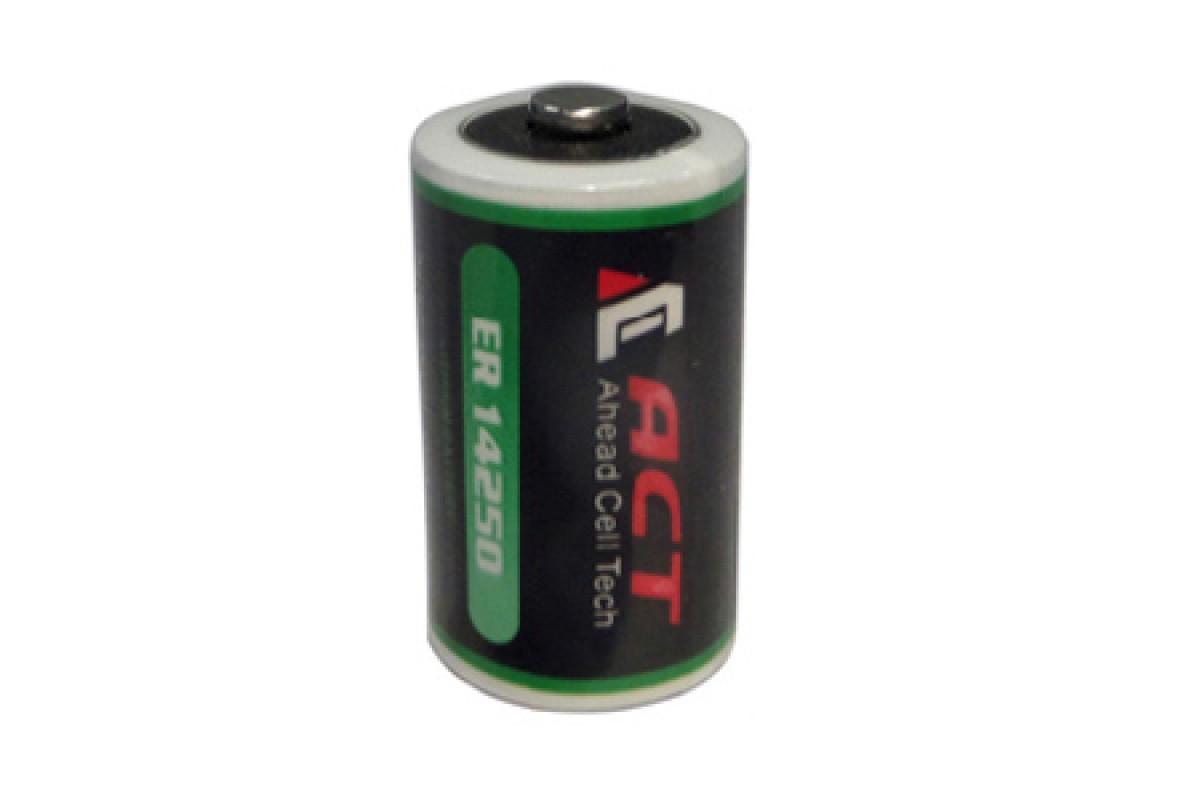 Литиевая батарея ACT ER14250, 1/2 AA Size 3,6В; 1200 мАч, Li-SOCl2