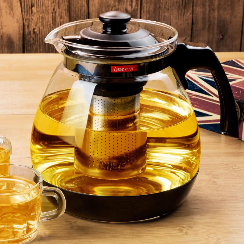 Заварочный стекляный чайник Lilac (900 мл)