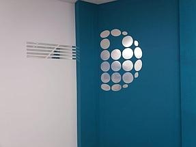 Установка зеркального логотипа  5