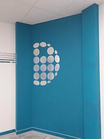 Установка зеркального логотипа  10