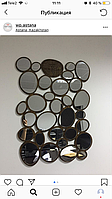 Декоративное зеркало с логотипом