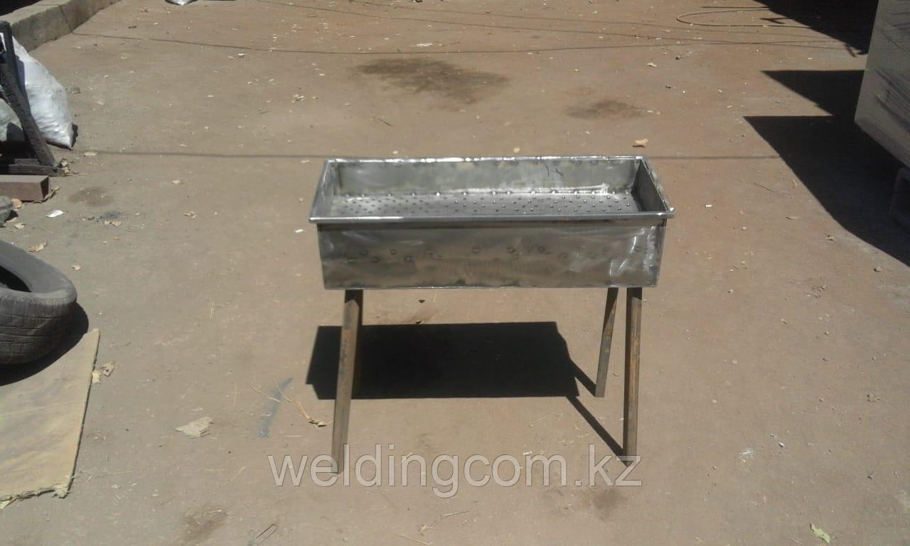 Мангал дачный 70х30 см, металл 2 мм