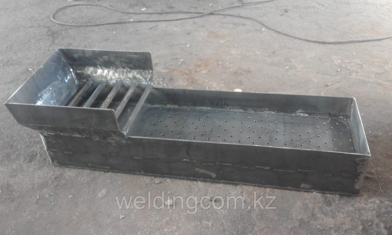 Мангал дачный 100х30 см, металл 2 мм