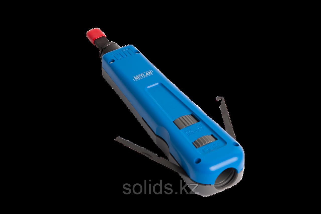 Инструмент для заделки витой пары крепление Twist-Lock с ножом