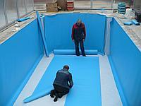 Устранение протечки в бассейне