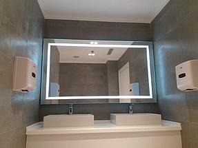 Зеркало с подсветкой, размер 1000 на 800мм 1