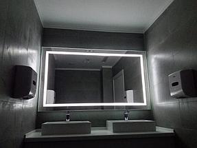 Зеркало с подсветкой, размер 1000 на 800мм 2