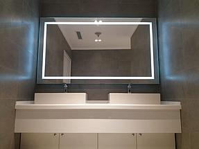 Зеркало с подсветкой, размер 1000 на 800мм 4