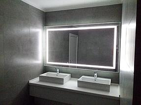 Зеркало с подсветкой, размер 1000 на 800мм 5