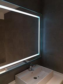 Зеркало с подсветкой, размер 1000 на 800мм 6