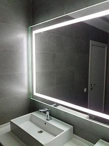 Зеркало с подсветкой, размер 1000 на 800мм 7