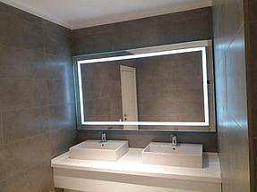 Зеркало с подсветкой, размер 1000 на 800мм 8