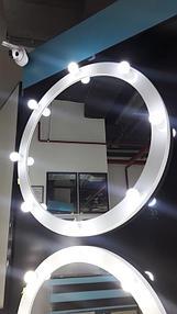 Круглые гримерные зеркала 2