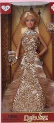 Defa Lucy Кукла Люси (30см) в вечернем платье с тематическими аксессуарами