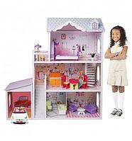 Дом для кукол с комплектом мебели EduFun EF4108 (123см)
