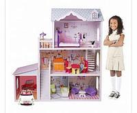 Кукольный дом с мебелью (123 см) EF4108 (Edufun, Великобритания)