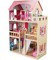 Кукольный дом с мебелью (90 см) EF4109 (Edufun, Великобритания)