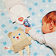 Игрушки с вишнёвыми косточками мишка, фото 4